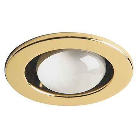 Dainolite Polished Brass 1 Light Recessed Trim Polished