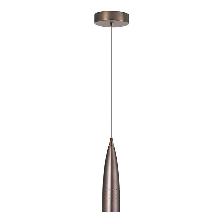 Dainolite Oil Brushed Bronze Dinette 1 Light Mini Pendant