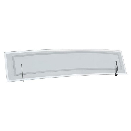 Dainolite Satin Chrome 3 Light Vanity Light