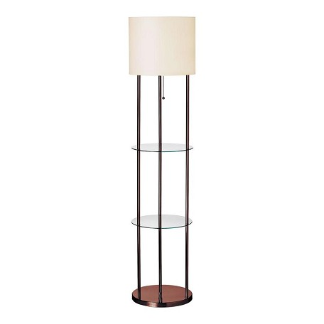 Dainolite Oil Brushed Bronze 1 Light Floor Lamp