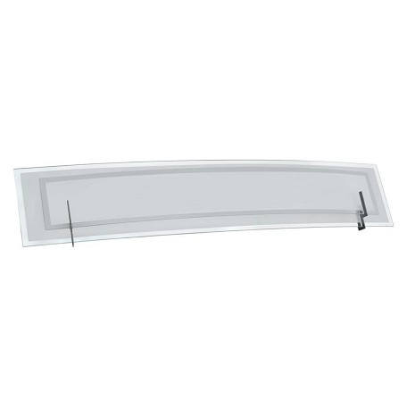 Dainolite Satin Chrome 4 Light Vanity Light