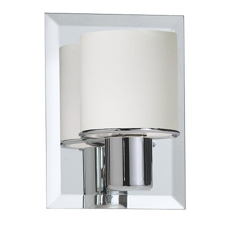 Dainolite One Light Chrome Bathroom Sconce