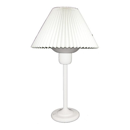 Dainolite White 1 Light Table Lamp