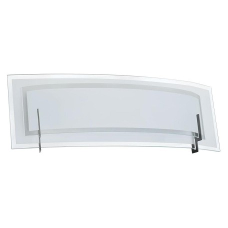 Dainolite Satin Chrome 2 Light Vanity Light