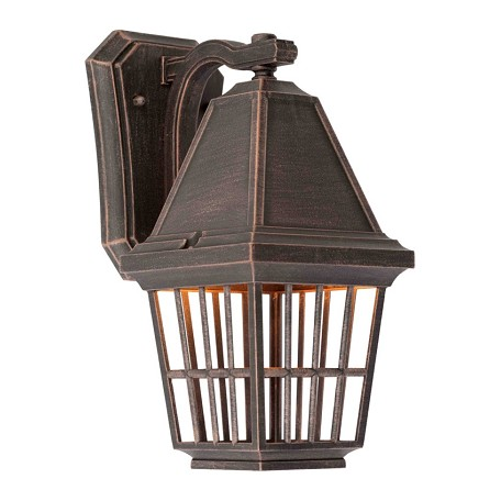 Artcraft Castille 1 Light AC8961RU Rust  Outdoor Light