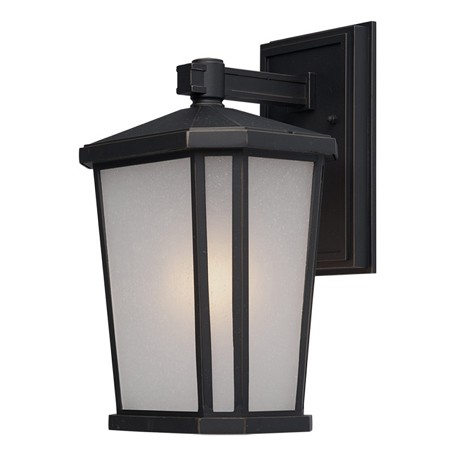 Artcraft Hampton 1 Light  Oil Rubbed Bronze Outdoor Light