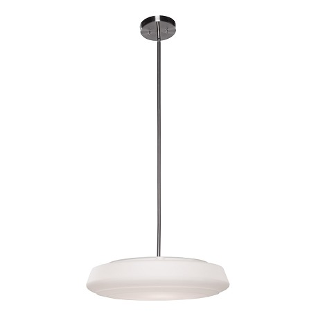 Artcraft Three Light Chrome Down Pendant