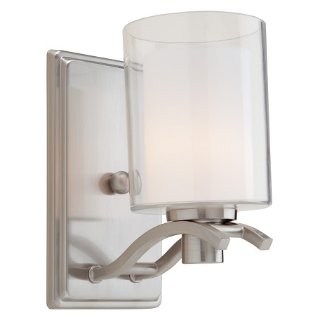 Artcraft Andover  1 Light  Polished Nickel Wall Bracket