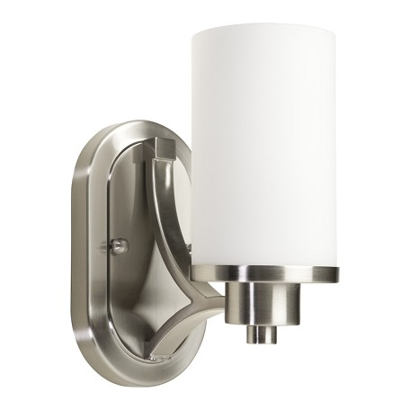Artcraft Parkdale 1 Light  Polished Nickel Wall Bracket