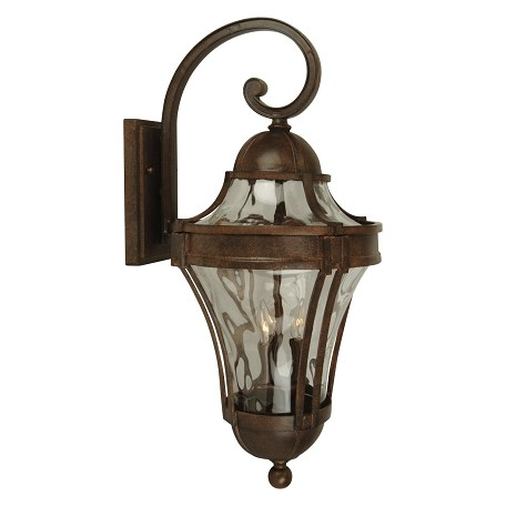 Aged Bronze Wall Sconces : Craftmade Aged Bronze Parish 3 Light Outdoor Wall Sconce - 11 Inches Wide Aged Bronze Z4224-98 ...