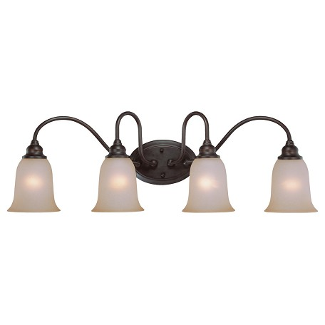 Craftmade Four Light Old Bronze Vanity