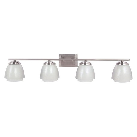 Craftmade Brush Nickel Piedmont 4 Light Indoor Wall Sconce - 39 Inches Wide