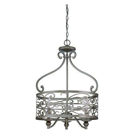 Craftmade Three Light Athenian Obol Foyer Hall Pendant