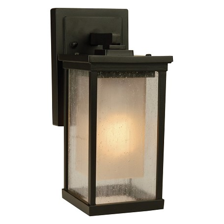 Craftmade Oiled Bronze Riviera 1 Light Energy Star Outdoor Wall Sconce - 5 Inches Wide