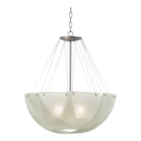Kalco Satin Nickel Additional Finish And Shade Options For 5098 Cirrus 3 Light Pendant