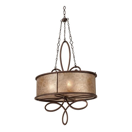 Kalco Aged Silver Additional Finish And Shade Options For Whitfield 4 Light Chandelier