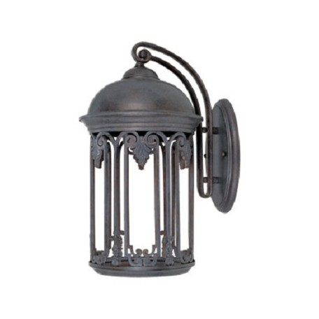 Designers Fountain 1 Light Wall Lantern With Old Bronze Finish