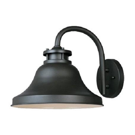Designers Fountain Bronze 1 Light 11in. Wall Lantern from the Bayport Collection