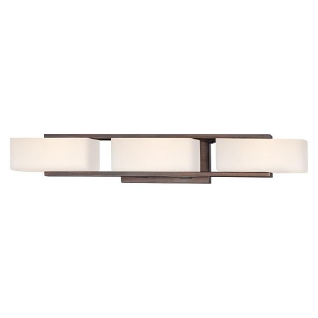 Designers Fountain Tuscana 3 Light Bathroom Fixture from the Facet Collection