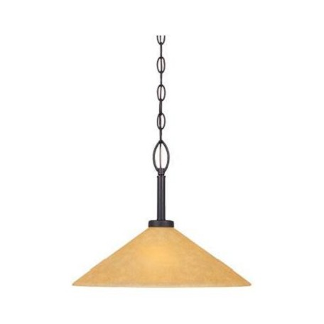 Designers Fountain Oil Rubbed Bronze Arcadia 1 Light Foyer Pendant
