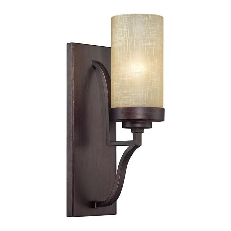 Designers Fountain Tuscana 1 Light Bathroom Fixture from the Castello Collection