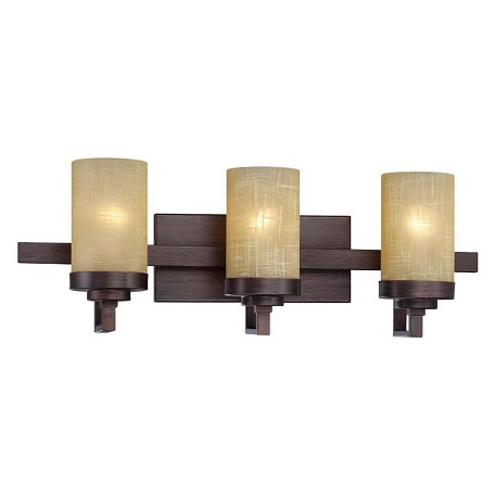 Designers Fountain Tuscana 3 Light Bathroom Fixture from the Castello Collection