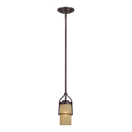 Designers Fountain Tuscana 1 Light Mini Pendant from the Castello Collection