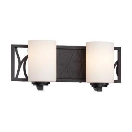 Designers Fountain Artisan 2 Light Bathroom Fixture from the Modesto Collection