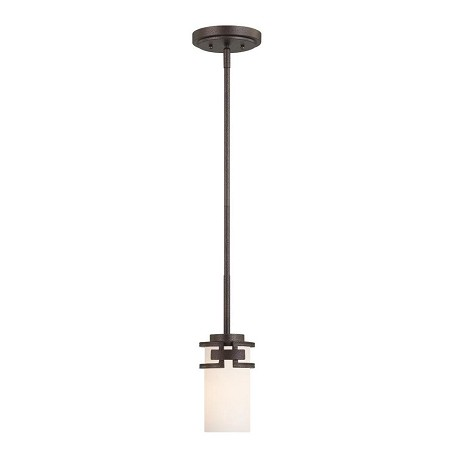 Designers Fountain Flemish Bronze 1 Light Mini Pendant from the Del Ray Collection
