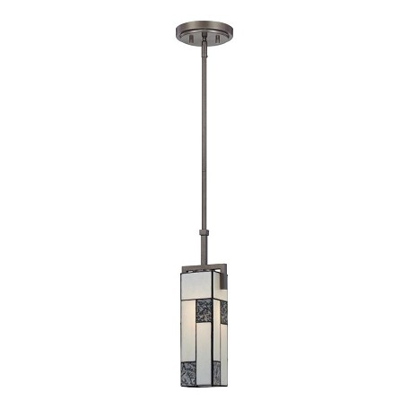 Designers Fountain Charcoal  1 Light Mini Pendant from the Bradley Collection