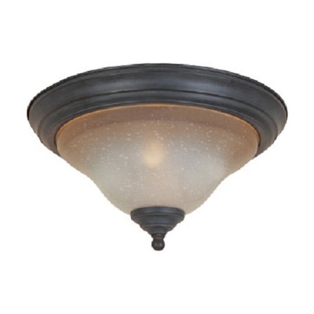 Designers Fountain Natural Iron Two Light Down Lighting Flush Mount Ceiling Fixture