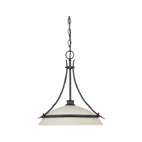 Designers Fountain Oil Rubbed Bronze Single Light Pendant From The Montego Collection