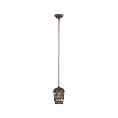 Designers Fountain Burnt Umber Single Light Down Lighting Mini Pendant from the Amherst Collection