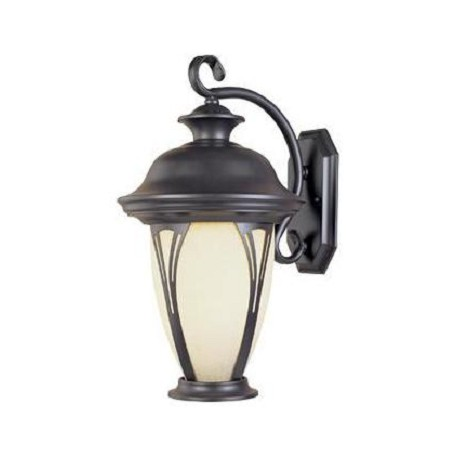 Designers Fountain Bronze Single Light Down Lighting Energy Star Outdoor Wall Sconce