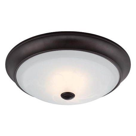 Designers Fountain Oil Rubbed Bronze Cirrus 1 Light LED Flush Mount Ceiling Fixtures