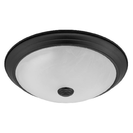 Designers Fountain Oil Rubbed Bronze 1 Light Led Flush Mount Ceiling Fixture
