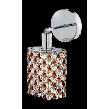 Elegant Bathroom Sconce Chrome Chrome 1381W-R-R-TO/RC From Mini Collection