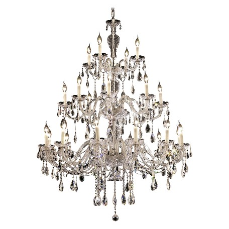 Elegant Lighting Royal Cut Clear Crystal Alexandria 24-Light