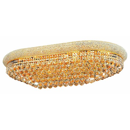 Elegant Lighting Royal Cut Clear Crystal Primo 24-Light