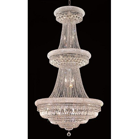 Elegant Lighting Royal Cut Clear Crystal Primo 32-Light