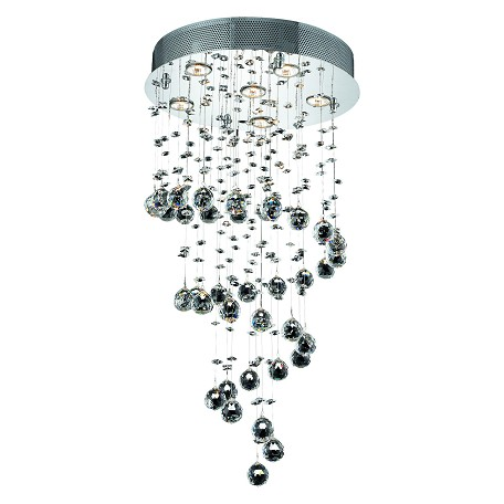 Elegant Lighting Royal Cut Clear Crystal Galaxy 6-Light