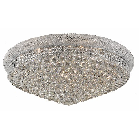 Elegant Lighting Royal Cut Clear Crystal Primo 20-Light