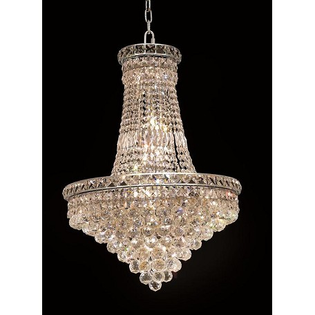 Elegant Lighting Royal Cut Clear Crystal Tranquil 22-Light