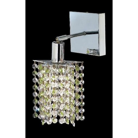 Elegant Bathroom Sconce Chrome