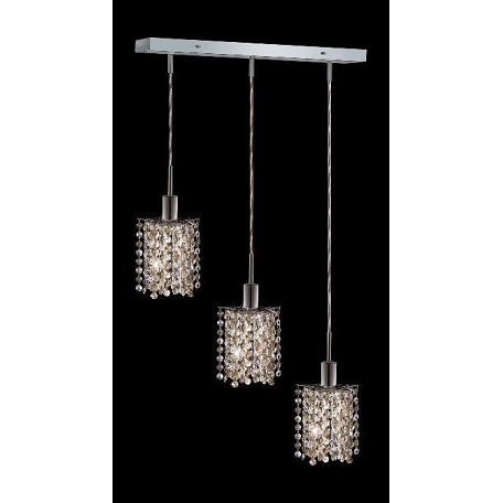 Elegant Multi Light Pendant Chrome Chrome 1383D O P GT SS