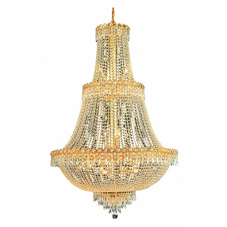 Elegant Lighting Elegant Cut Clear Crystal Century 17-Light