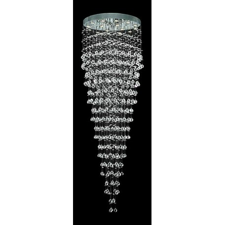 Elegant Elegant Cut Clear Crystal Galaxy 16-Light Led