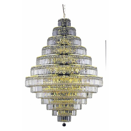 Elegant Lighting Swarovski Spectra Clear Crystal Maxim 38-Light