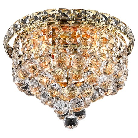 Elegant Lighting Swarovski Elements Clear Crystal Tranquil 4-Light