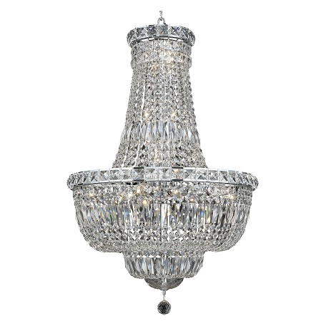 Elegant Lighting Swarovski Spectra Clear Crystal Tranquil 22-Light